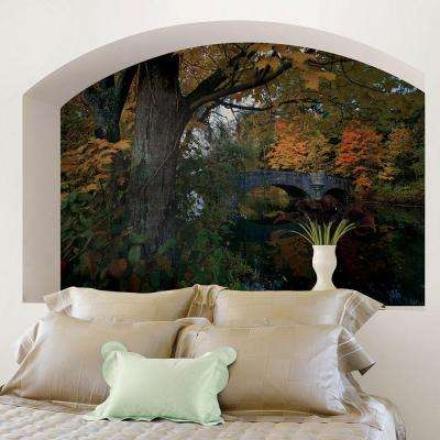 72 in. H x 48 in. W Fall Foliage Wall Mural