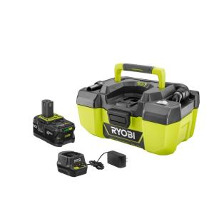 Ryobi 18-Volt ONE+ Lithium-Ion Cordless 3 Gal. Project Wet/Dry Vacuum