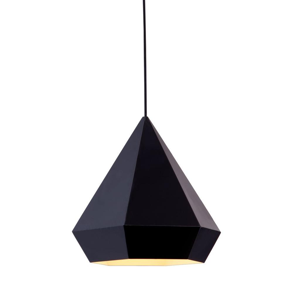 zuo forecast 13 in 1 light black ceiling lamp 50168 the home depot