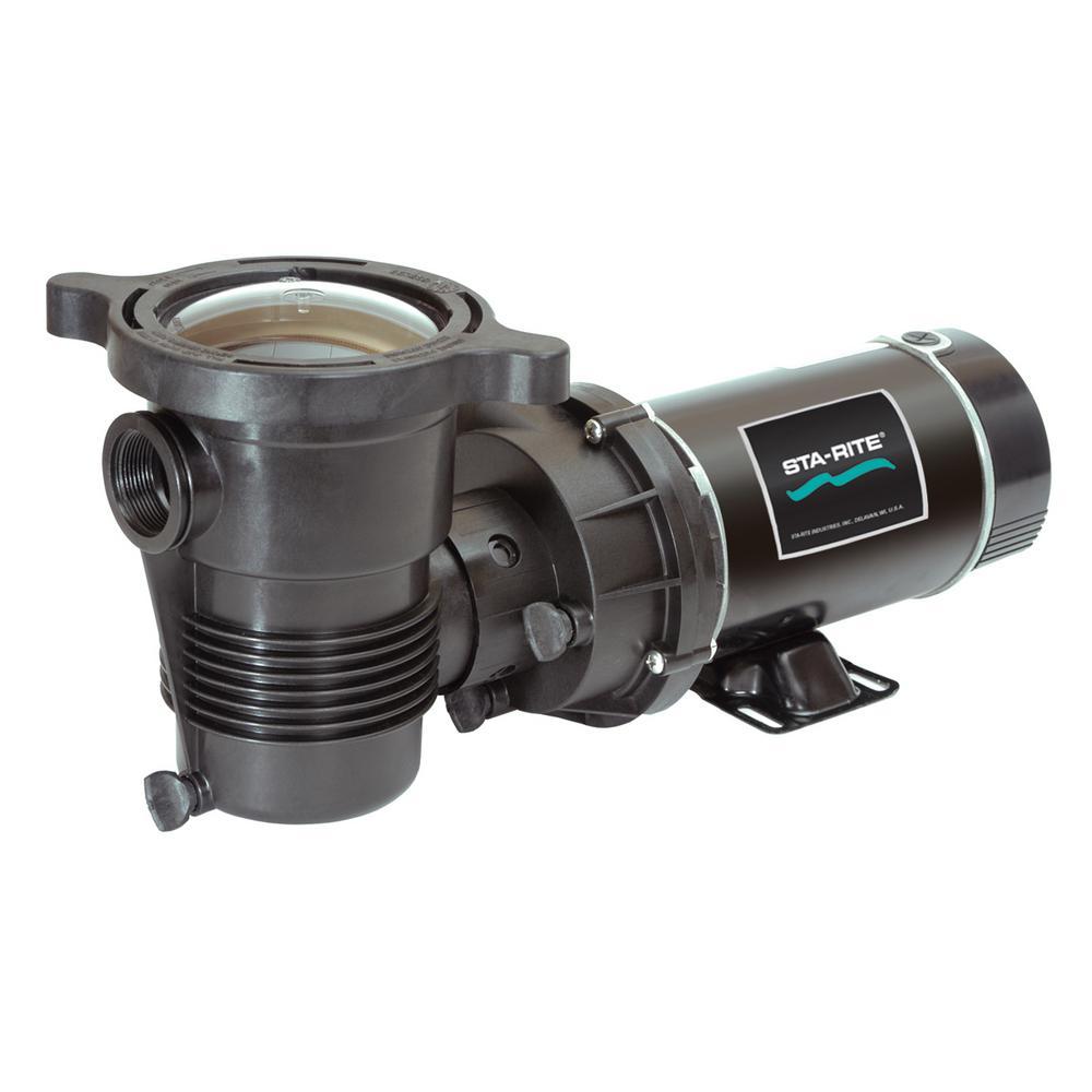 OptiFlo 1-1/2 HP Vertical Discharge Dual Speed Above Ground Pool Pump