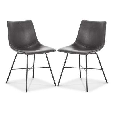 Paxton Dining Chair in Grey (Set of 2)