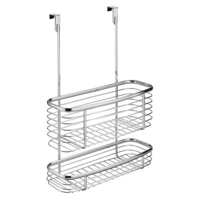 Axis Over the Cabinet Storage Basket in Chrome