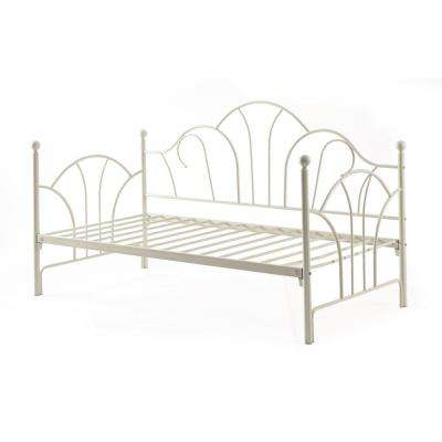 Metal Day Ivory Bed