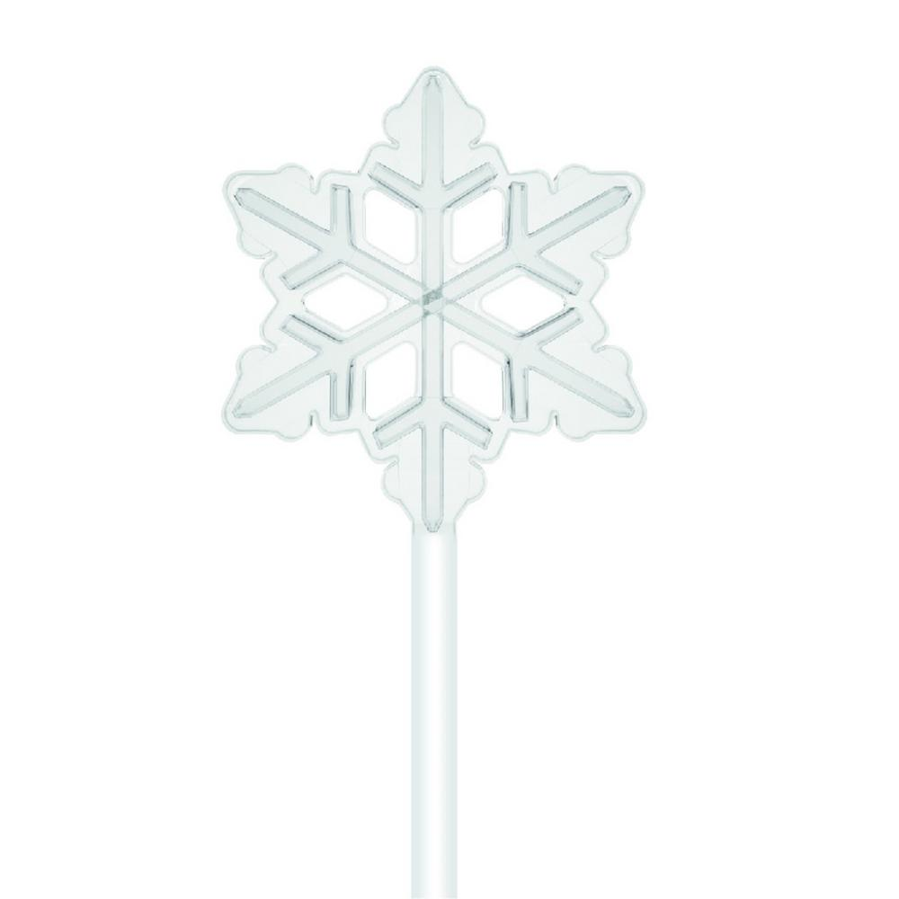 ShowHome LED Snowflake Pathway-W10I0024 - The Home Depot
