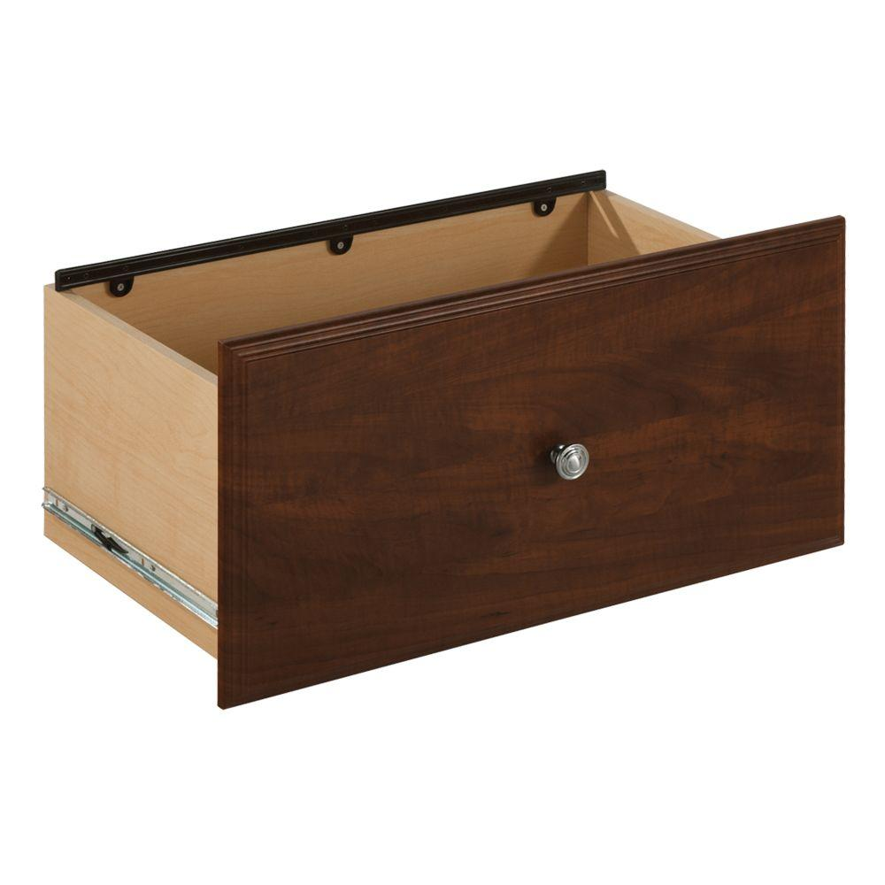 Martha Stewart Living 12 in. Espresso File Drawer