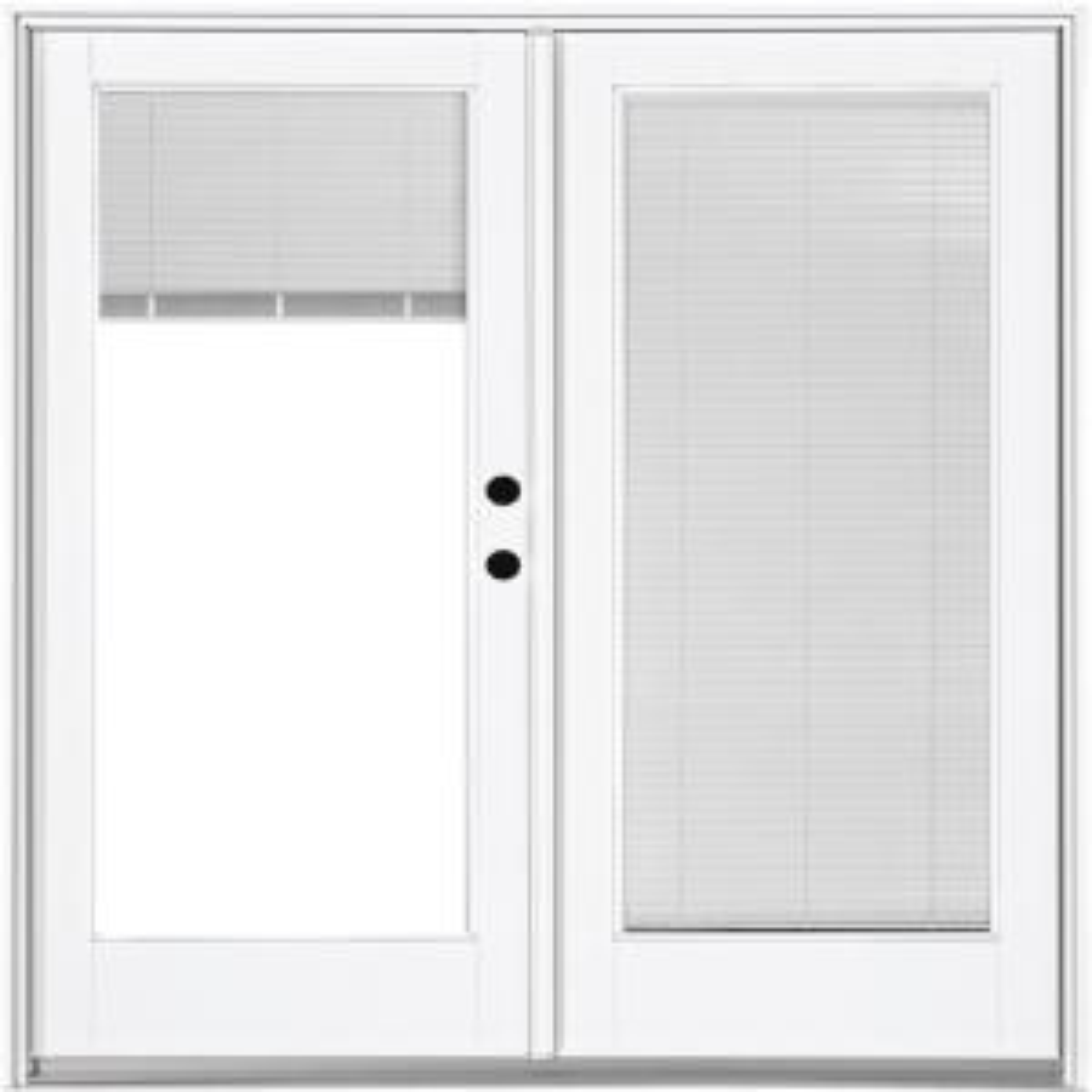 Mp Doors 72 In X 80 In Fiberglass Smooth White Left Hand