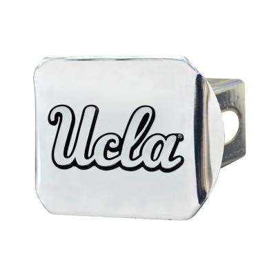 NCAA University of California-Los Angeles (UCLA) 2 in. Type III Chrome Hitch Cover with Chrome Emblem