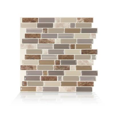 L And Stick Backsplash Wall Decor The Home Depot