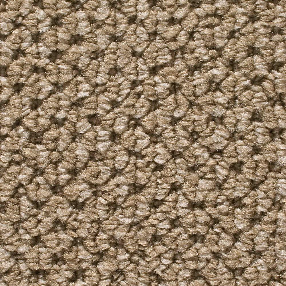 Browns Tans Loop Amp Berber Carpet The Home Depot