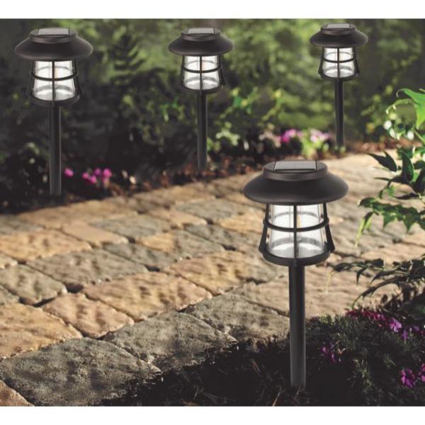 10// 20 Pieces LED Solar Light Set Garden Patio Pathway Lamp Ground Spike Lantern