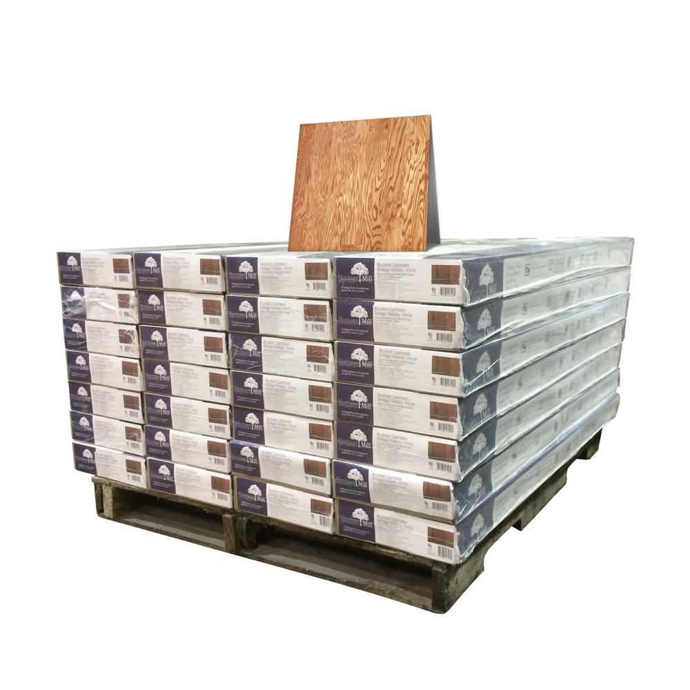 Red Oak Natural 3/8 in. Thick x 4-3/4 in. Wide x