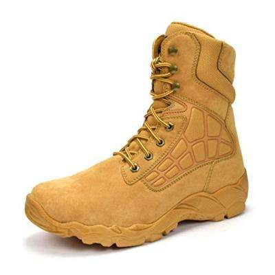 "Men's 8"" Wheat 13 E US Steel Toe Work Boot"