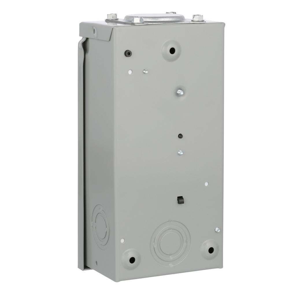 Eaton Br 50 Amp 2 Circuit Spa Panel With 2 Pole Self Test Gfci