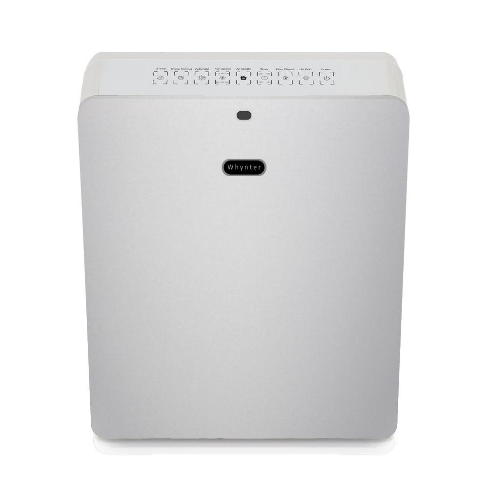 Whynter EcoPure Hepa System Air Purifier in Silver
