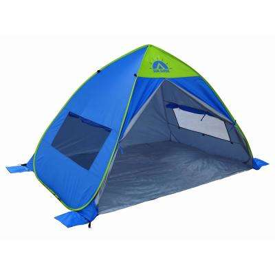 80 in. W x 50 in. H x 54 in. D Sun Shelter Beach Tent Fishing Tent Picnic Tent