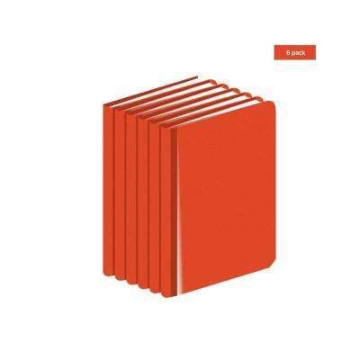 Standard size 4 in. x 7 in. Engineers Field Surveying Orange Book (6-Books)