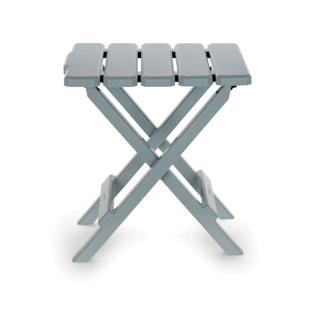 Camco Adirondack Folding Table Small Gray 51682 The