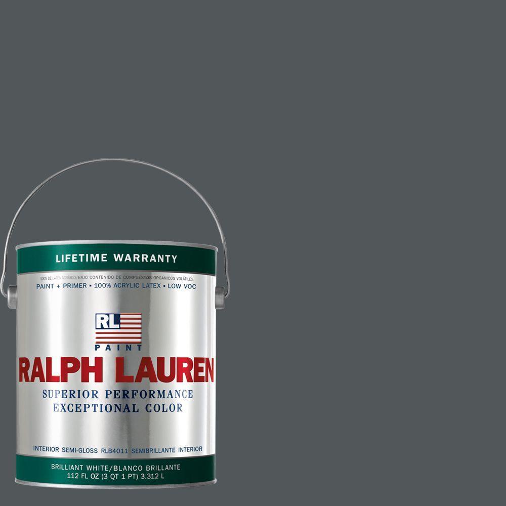 Ralph Lauren 1-gal. Nobel Grey Semi-Gloss Interior Paint