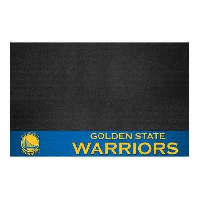 Golden State Warriors 26 in. x 42 in. Grill Mat