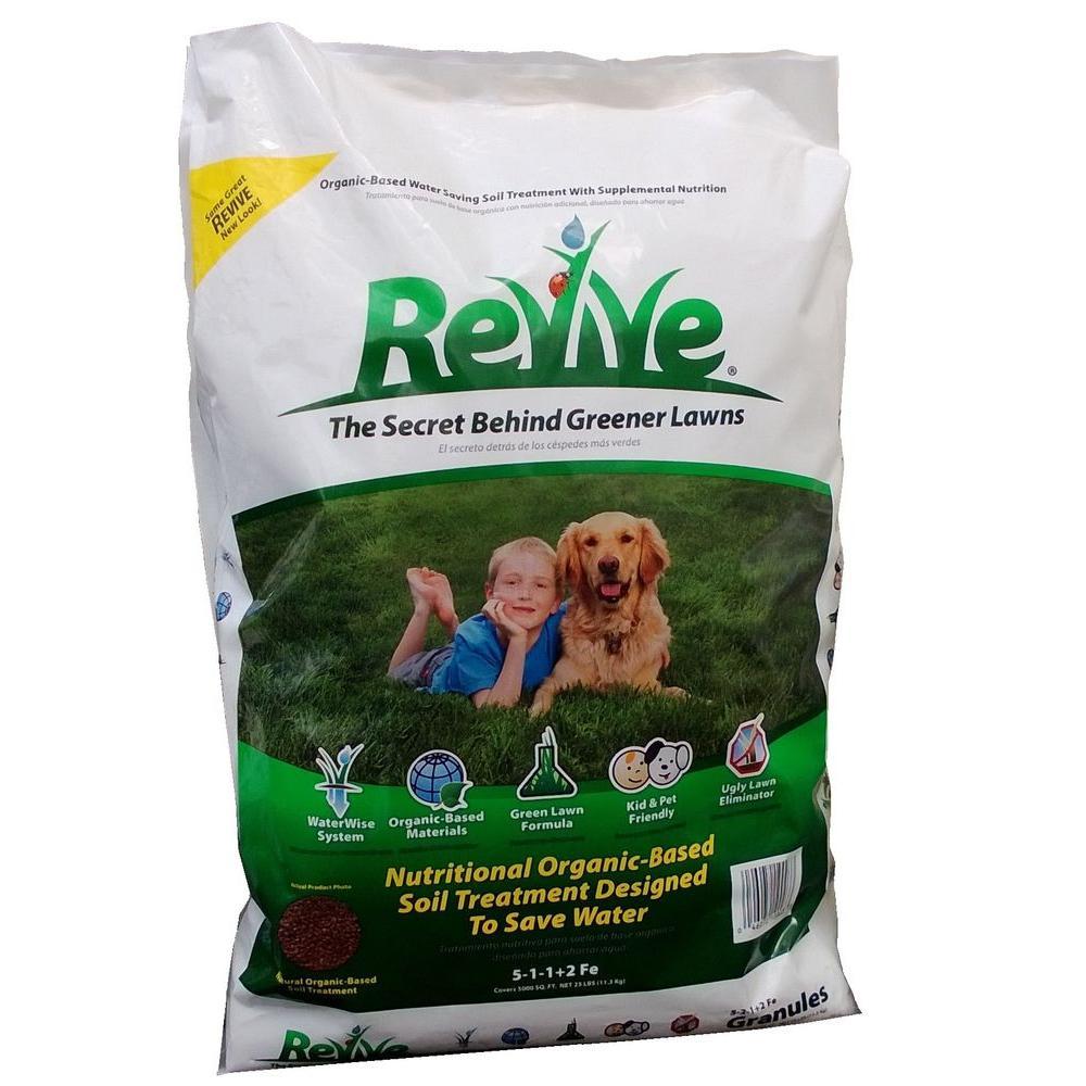 Revive 25 lb organic soil treatment granules 100046744 for Organic soil