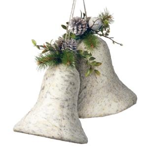 10 in. Christmas Bells Decoration