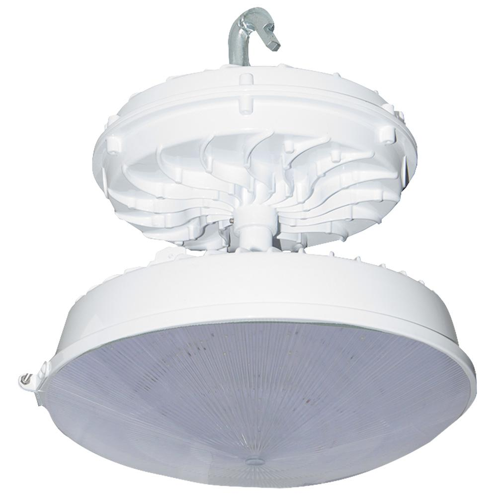 169-Watt White Integrated LED Indoor High Bay with Conical Lens