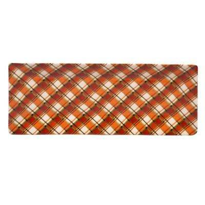 Autumn Fields by Susan Winget Plaid 14.5 in. Rectangular Platter