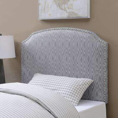 American Woodcrafters Bed Frame Mounted Twin Beds Headboards Simple Patterned Headboards
