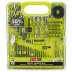 60-Piece Ryobi Multi-Material Drill and Drive Kit