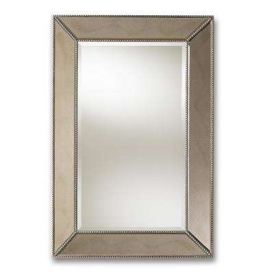 Emelie Antique Silver Wall Mirror