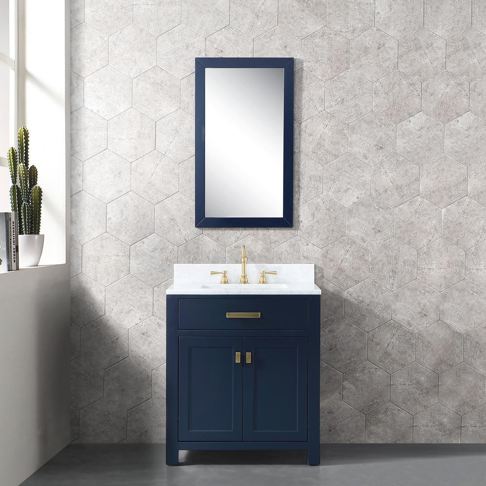 High Quality Bathroom Vanity: Water Creation Madison 30 In. W X 21.5 In. D X 34 In. H