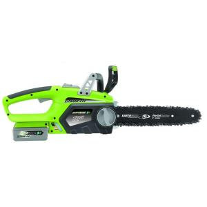 Earthwise 12 inch 24-Volt Lithium-Ion Cordless Chainsaw by Earthwise