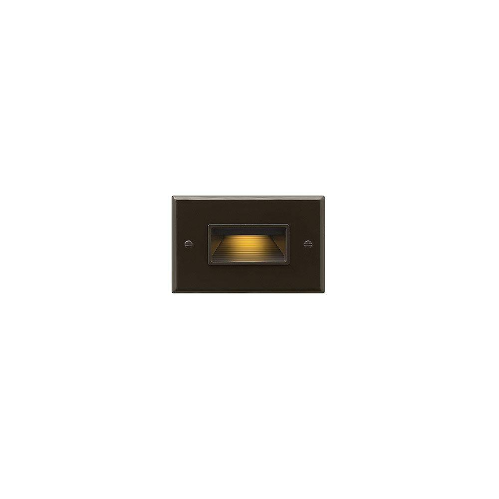 120-Volt 4-Watt Horizontal Bronze LED Luna Step Light