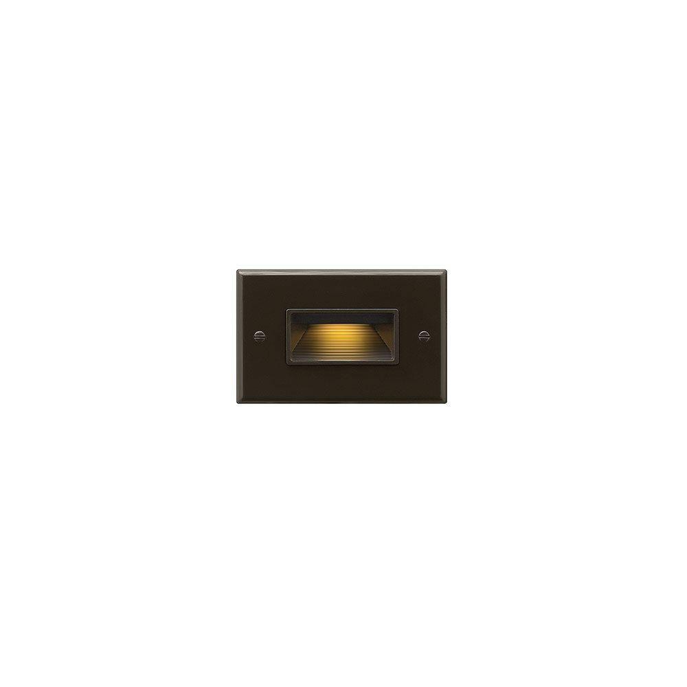 120-Volt 4-Watt Horizontal Bronze LED Luna Step Light