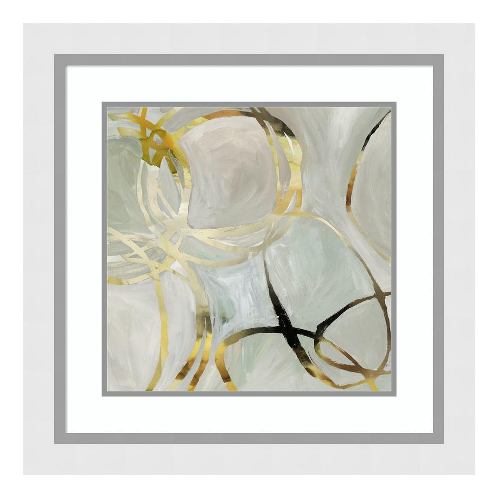 ''Linked I'' by Tom Reeves Framed Wall Art