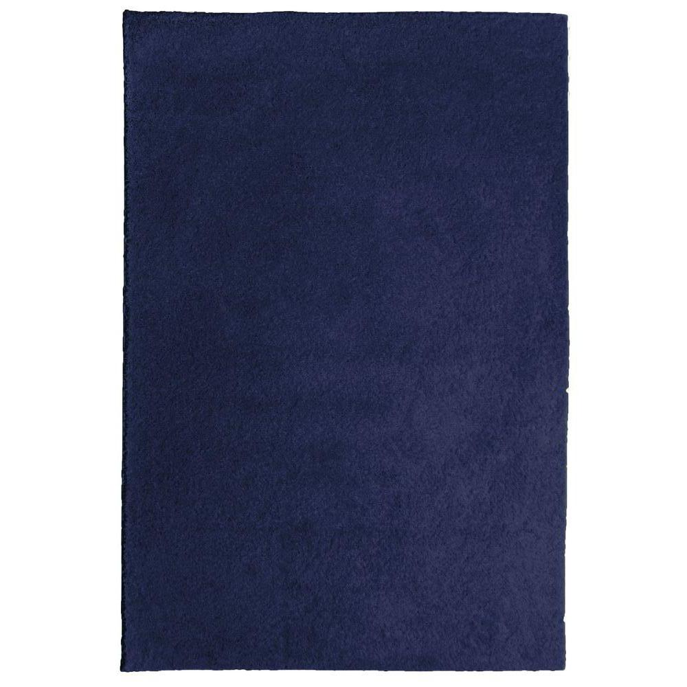 Nance Carpet and Rug OurSpace Navy 5 ft. x 7 ft. Bright Area Rug