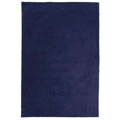 OurSpace Navy 5 ft. x 7 ft. Bright Area Rug