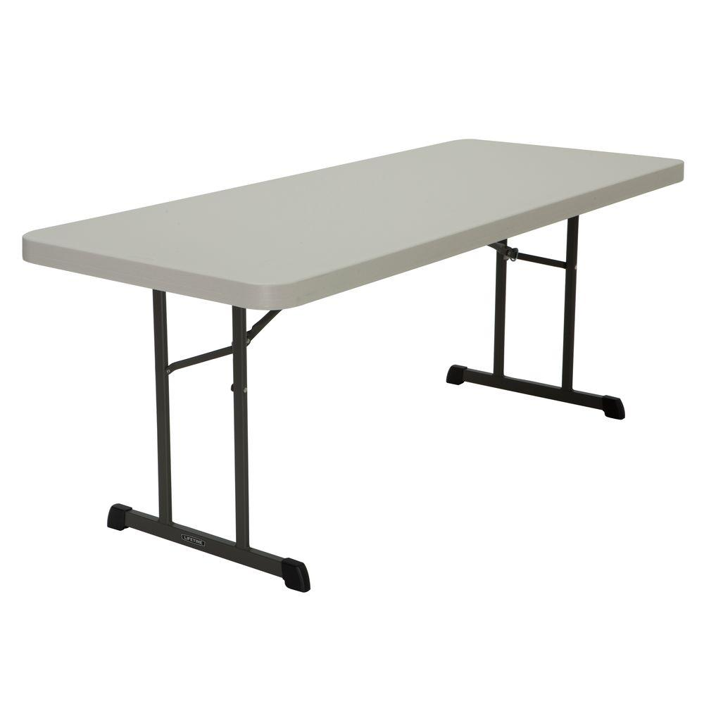 Almond 18 Pack Folding Table