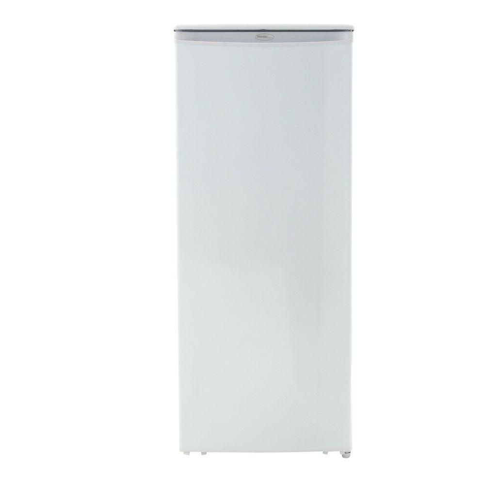 8.5 cu. ft. Upright Freezer in White