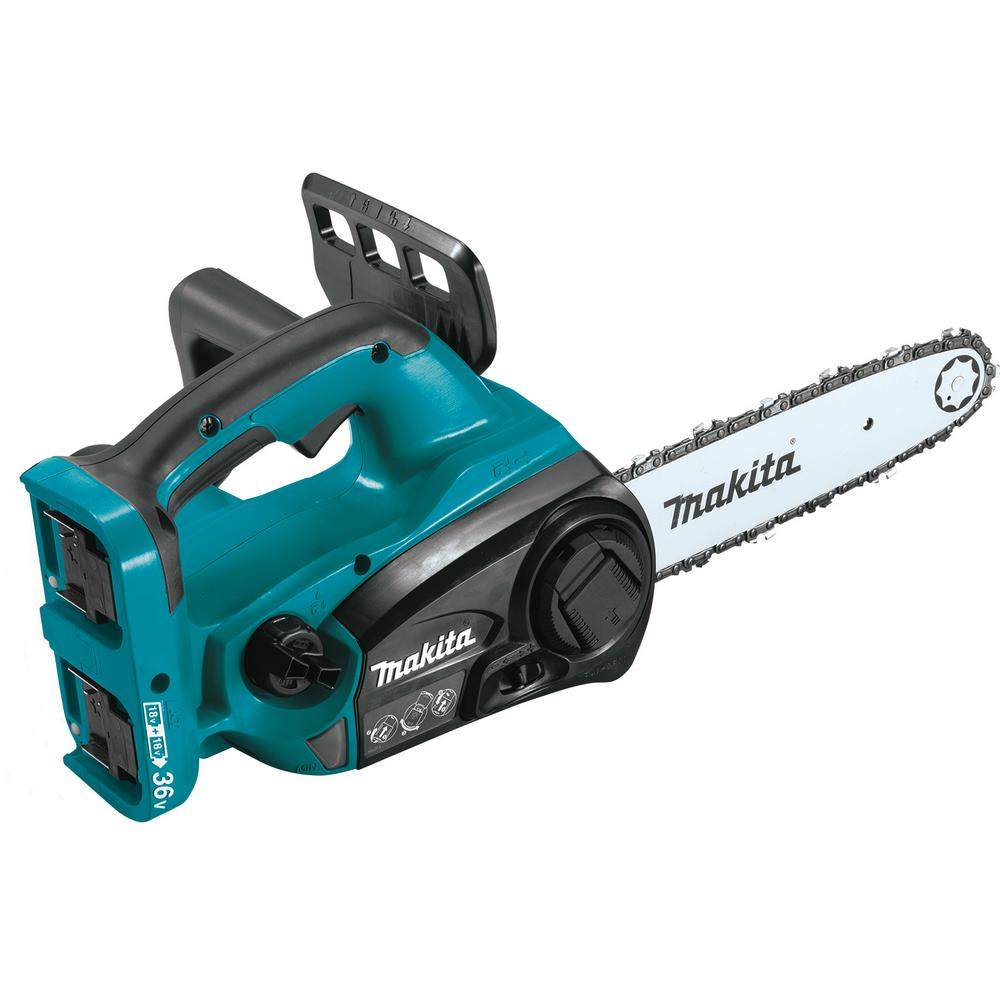 Makita 12 in. 18-Volt X2 (36-Volt) LXT Lithium-Ion Cordless Chain Saw (Tool-Only)