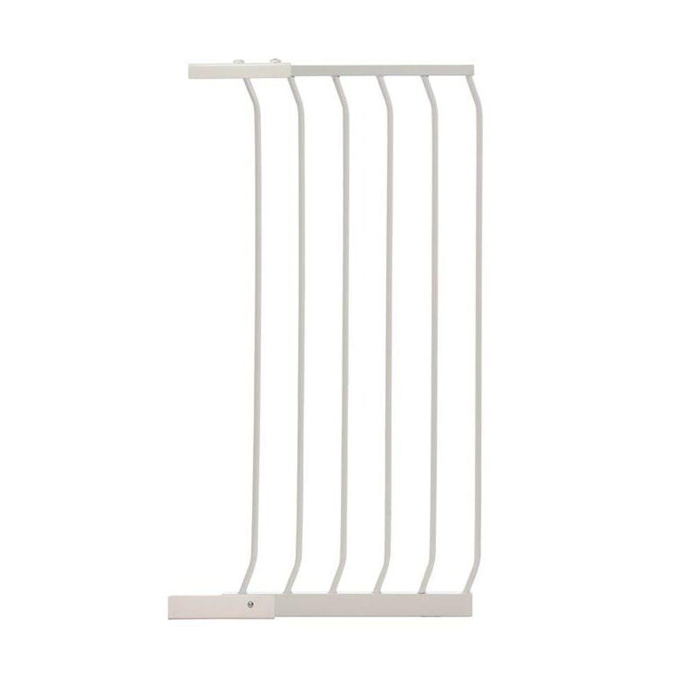 17.5 in. Gate Extension for White Chelsea Extra Tall Child Safety