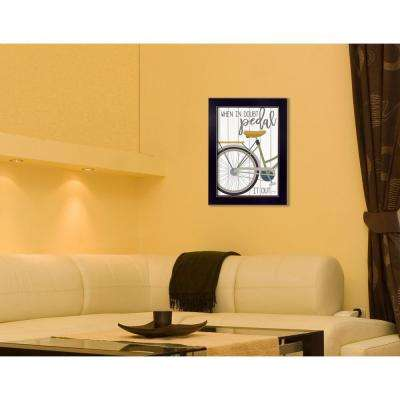 """20 in. x 14 in. """"When In Doubt"""" by Marla Rae, Printed Framed Wall Art"""