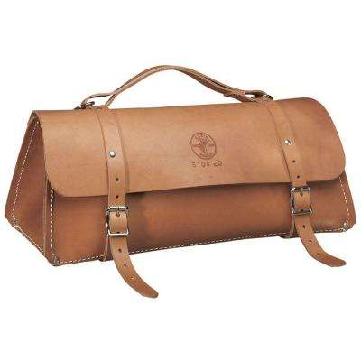 20 in. Deluxe Leather Bag