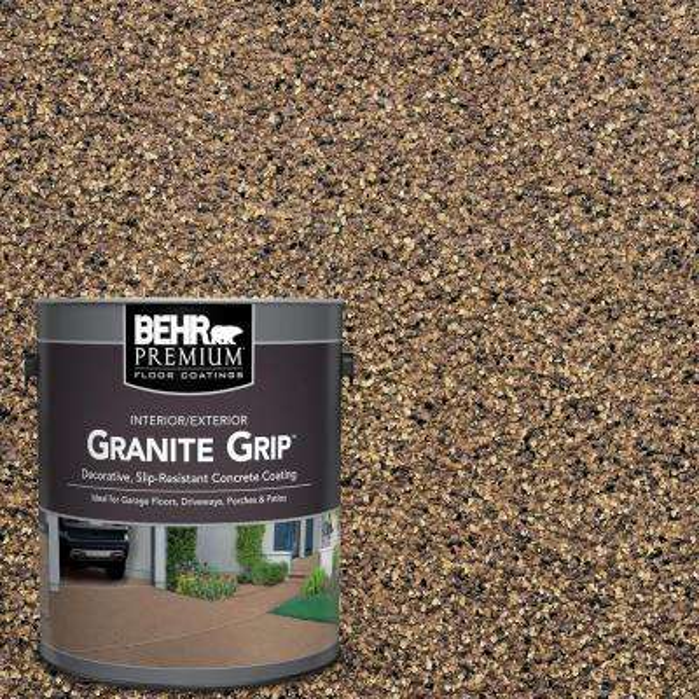 1 Gal. #GG-16 Baltic Stone Decorative Flat Interior/Exterior Concrete Floor Coating