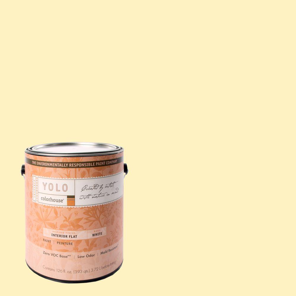 YOLO Colorhouse 1-gal. Sprout .04 Flat Interior Paint-DISCONTINUED