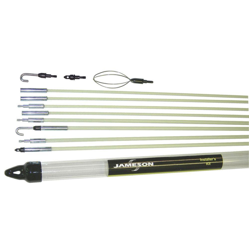 Jameson 35 ft. Glow Fish Rod Installer's Kit