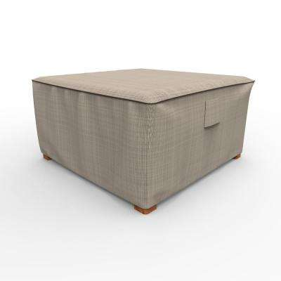English Garden  Extra Large Square Patio Table / Ottoman Covers