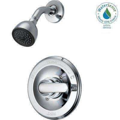 Classic Single-Handle 1-Spray Shower Only Faucet in Chrome (Valve Included)