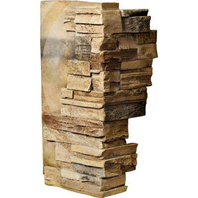 1-1/2 in. x 12 in. x 25 in. Saturn Urethane Dry Stack Stone Outer Corner Wall Panel