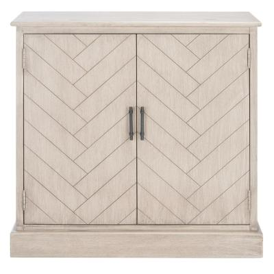 Peyton Taupe Storage Console Table